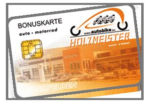 Holzmeister Bonuskarte